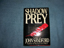 SHADOW PREY by John Sandford/1st Ed/HCDJ/Literature &Fiction/Mystery