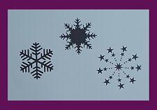 Schablone Weihnachten Stencil DIY Basteln für Schneespray,Wände,Stoffe,uvm.