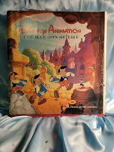 """FIRST EDITION BOOK """"DISNEY ANIMATION THE ILLUSION OF LIFE"""" Signed  copy"""