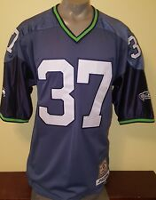 Jeff Hamilton 54 Shaun Alexander Seattle Seahawks jersey xxl player of century