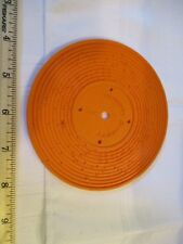 Fisher Price Record Player Vintage Orange 1 Humpty Dumpty Jack And Jill Songs