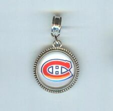 MONTREAL CANADIENS, NHL, Hockey Charm, Bead fits European Bracelets - F947