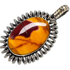 """Mookaite 925 Sterling Silver Pendant 2"""" Ana Co Jewelry P568200F"""