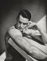 1987 Bruce Weber - Scott Piddell Bobsled Male Olympic Athlete Body Photo Gravure