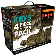 Stoney Creek Kids 4 Piece Hunters Pack - Camo, Kids CamoHunting Clothing,