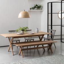 Habitat AUSTIN 4 Seater Oak Dining Kitchen Bench - 778237 - RRP £395