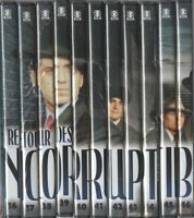 LE RETOUR DES INCORRUPTIBLES ... 33 EPISODES ... DVD N°36 au N°46 ... LOT 11 DVD