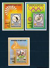 Haute Volta  bloc jeux olympiques Munich 1973 vainqueurs    num: BF 5A B C **