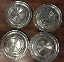 "1958 Desoto Hubcaps Wheel Covers 14"" Factory Set of 4 Vintage Caps #DO58WC XX"