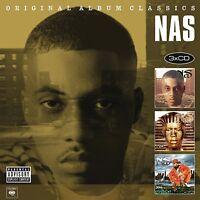 NAS - ORIGINAL ALBUM CLASSICS 3 CD NEU