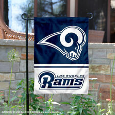 WinCraft Los Angeles Rams Double Sided Garden Flag