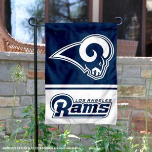 LA Rams Garden Flag and Yard Banner