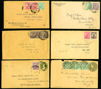 India Lot of 6 Old Early Covers In Clean Condition