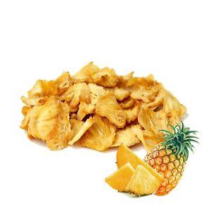 Dried organic pineapple fruit slices/tidbits Ceylon pure natural premium quality