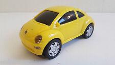 Dickie - Volkswagen New Beetle jaune à friction en plastique  (14 Cm)