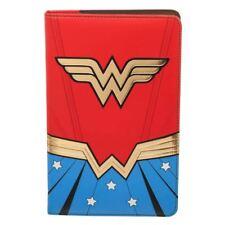 Oficial Dc Comics Retro Wonder Woman Diseño Cartera de viaje y DIARIO