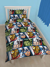 "Marvel Single Disney ""Avengers Shield"" Rotary Duvet Set - DMASHEDS003UK1"
