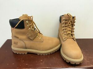 """Men's Timberland 6"""" CSA Alloy Toe Work Boots Size 8W."""