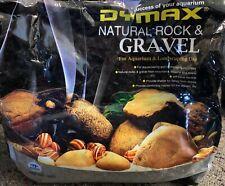 DYMAX PURE BLACK STONE GRAVEL - 4kg SUBSTRATE AQUARIUM FRESHWATER SALTWATER FISH