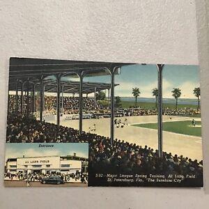 Al Lang Baseball Field Major League Baseball Spring Training Stadium Postcard St