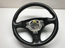 AUDI A4 B6 2003 / 2001-05 STEERING WHEEL / 8E0419091AS / Black Leather / A3 / A4