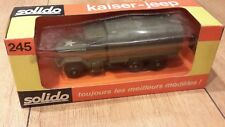 Solido Military Army 1/50 - Kaiser Jeep Covered No.245