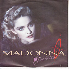 "MADONNA  Live To Tell PICTURE SLEEVE 7"" 45 rpm record NEW + juke box title strip"