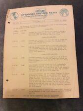 Overseas Service News - National Cash Register Co. - Jan 27 1938
