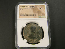 AD 218-224/5 Roman Coin Cappadocia Caesarea Julia Maesa NGC AG