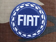 ECUSSON PATCH THERMOCOLLANT aufnaher toppa FIAT automobile 500 course marque