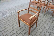 1x ART DECO Armlehnenstuhl 19.Jh. Stuhl II Holz Armchair 19. cent Esszimmerstuhl
