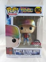 Movies Funko Pop- Marty in Future Outfit (Metallic) -Back to the Future- No. 962
