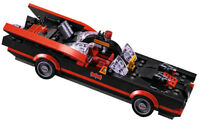 NEW LEGO CLASSIC BATMOBILE 76052 batcave batman vehicle bat mobile red black