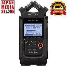 ZOOM H4nPro Black BLK H4n Pro Linear PCM IC Digital Handy Recorder 100% Genuine