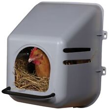 Large Nesting Box wall mount Heavy Duty Plastic Chicken poultry Hen Egg Nest