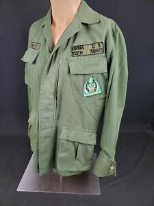 Vietnam War Phillipines Navy Security Forces Uniform Fatigue W. Theater patches