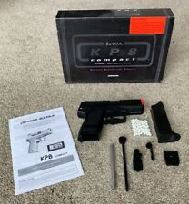 KWA KP8 compact airsoft pistol, excellent condition with box and manual