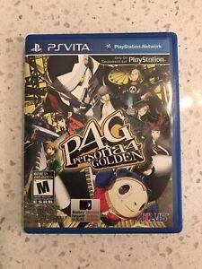 Persona 4 Golden - Sony PlayStation Vita - Complete