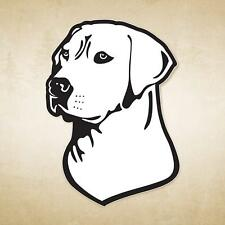 6504 Mossy Oak Graphics 13039 White ' Labrador Head ' Decal