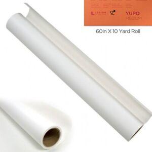 "Yupo Multimedia Paper Paper Roll 60""x10 Yards - White 74 lb."