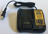 NEW DEWALT DCB107 12V & 20V Max Li-ion Battery Charger replaces DCB100 DCB112
