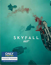 SKYFALL BLU-RAY STEELBOOK W/ DIGITAL COPY BEST BUY EXCLUSIVE SEALED! James Bond