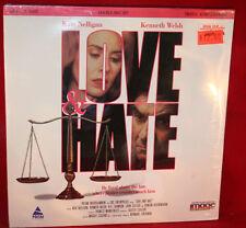 Laserdisc (R)  * Love & Hate * Kate Nelligan  Kenneth Welsh  Rare New Sealed