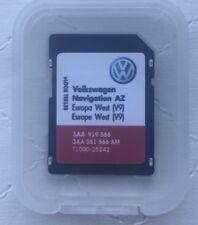 VOLKSWAGEN SKODA SEAT RNS 315 2017 Aggiornamento Mappe SD Card V9 Europa Occidentale