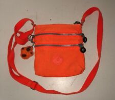 "Kipling Alvar Crossbody Bag AC7098 Orange 7""x7.5"""