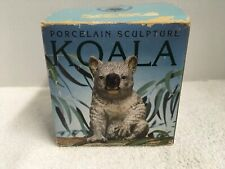 Royal Heritage Porcelain Koala Bear Figurine Australian Sculpture