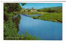 Postcard: Brecon from the Promenade, Breconshire, Wales