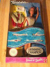 Teresa Swimming Champion Friend of Barbie 1999 Mattel Used Doll