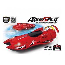 Nikko Radio Control Aquasplit Speed Boat Jet Lights Safety Sensor 27mhz 1 16 Toy
