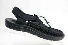 KEEN Uneek Bungee Black Sz 10.5 M Men Sport Hiking Sandals